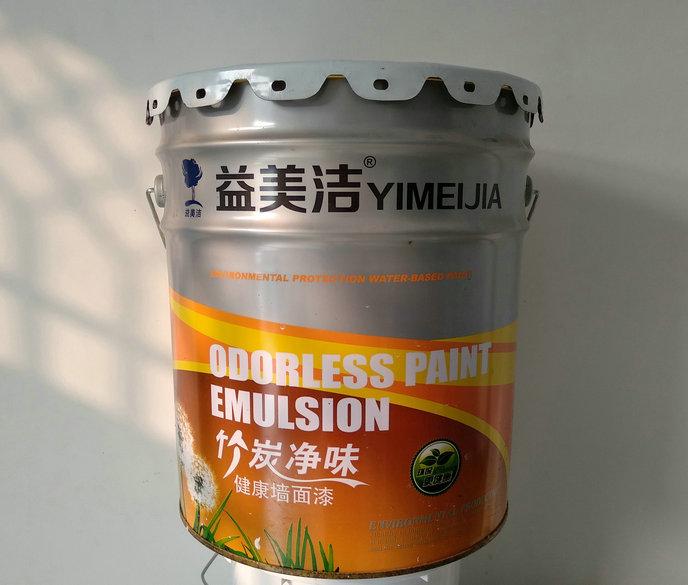 竹炭净味健康墙面漆